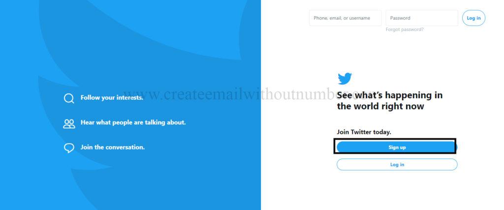 انشاء حساب تويتر وهمي كامل بدون رقم هاتف وبدون إيميل 2021 4