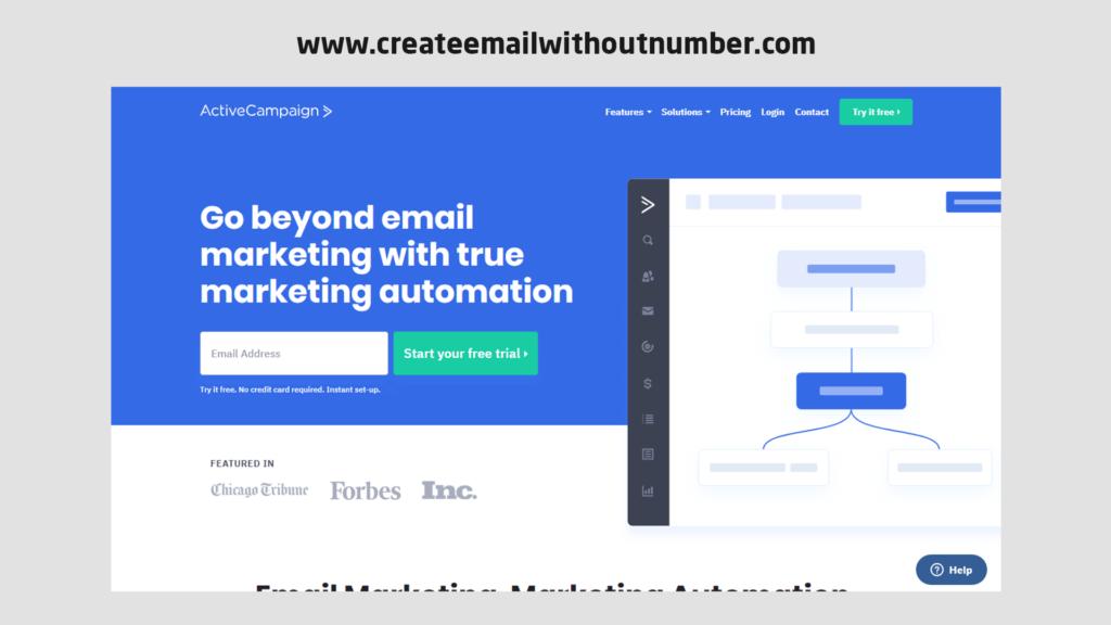 أداة التسويق عبر البريد الإلكتروني ActiveCampaign
