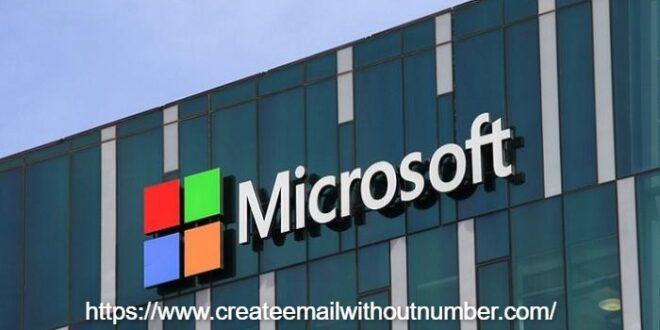 كيفية عمل حساب مايكروسوفت بسهولة 1